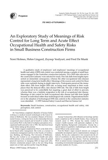 an exploratory study of internal control This exploratory study bridges this gap by analyzing an aggregate of case  the  comparison with the internal impacts showed an increase in.