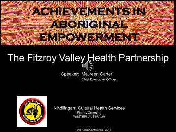 Achievements in Aboriginal Empowerment - Maureen Carter - HETI