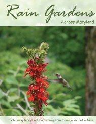 Rain Gardens Across Maryland - The Coastal Bays Program