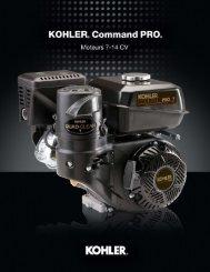 command pro - Kohler Engines
