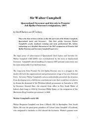 Sir Walter Campbell - Bond University