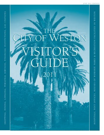 99848 Weston Guide_PRINT - City of Weston
