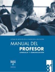 manual del profesor-LENG OK - Sector Lenguaje y Comunicación