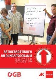 BR Seminarprogramm2013-14.indd - Arbeiterkammer