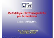Metodologie Elettromagnetiche per la Geofisica - Università degli ...