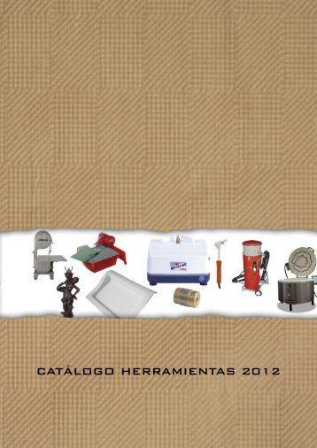 CATÁLOGO HERRAMIENTAS 2012 - Pepe Rios