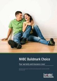 Buildmark Choice policy documents - NHBC Home