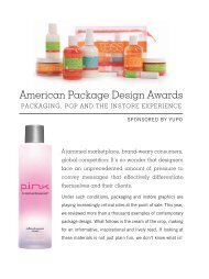 American Package Design Awards - Graphic Design USA