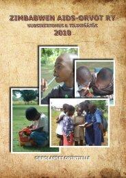 Vuosikertomus 2010 - Zimbabwen Aids-Orvot ry