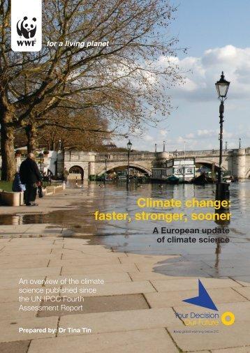 climate change faster stronger sooner (final edited formatted) - WWF