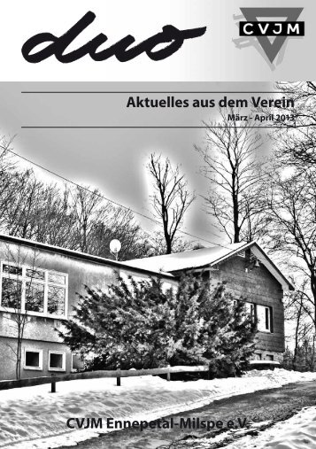 Aktuelles aus dem Verein CVJM Ennepetal-Milspe e.V.