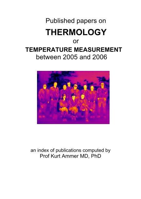Thermology Uhlen Verlag Wien