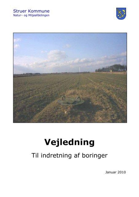 Vejledning til indretning af boringer - Struer kommune