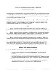 Western Governors University ADA Policy and Procedures Revised ...