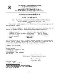 Area Purchase Cell – Srirampur Phone: 08736 238211, Extn: 08