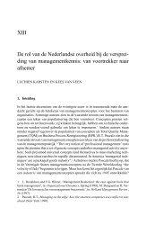 De rol van de Nederlandse overheid bij de verspreiding van ...