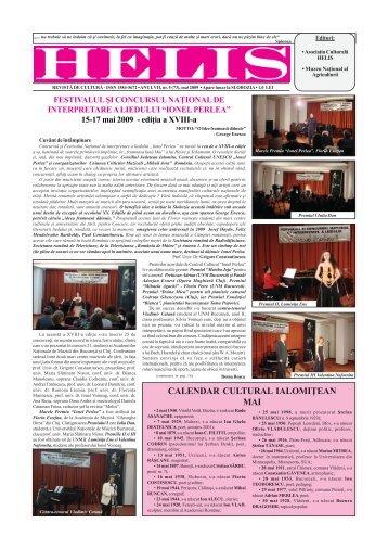Helis aprilie 2009.pmd - Revista HELIS