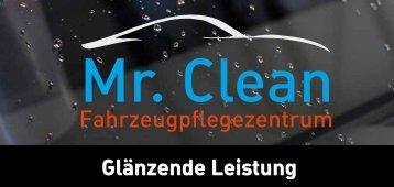 Aktuelle Preisliste - Mr. Clean Autopflege