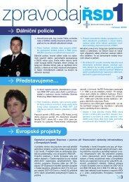 Dálniční policie > Evropské projekty - Ředitelství silnic a dálnic