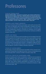 Professores - Instituto Educacional BM&FBOVESPA