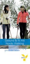 Gesund & fit mit Nordic Walking