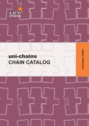 uni-chains CHAIN CATALOG
