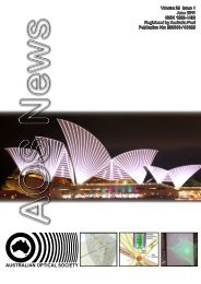 AOS News - The Australian Optical Society - Macquarie University