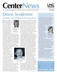 Fall Newsletter.02 - UNC Center for Maternal & Infant Health