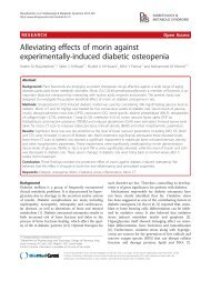 Alleviating effects of morin against experimentally-induced diabetic ...