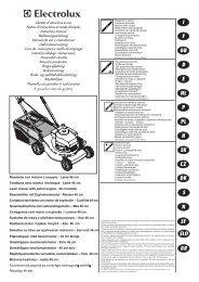 MANUAL DEL USUARIO Desbrozadoras de Hilo a Gasolina