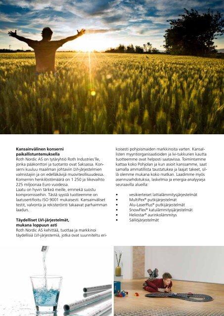 Vesi ja puhdas energia - Roth