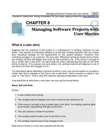 Managing Software Projects with User Stories - CPTTM Web Site 2
