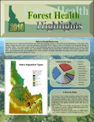 2010 Forest Health Highlights - Idaho Forest Products Commission