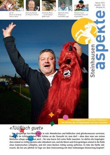 Ausgabe 02/2011 - Aspekte Steinhausen
