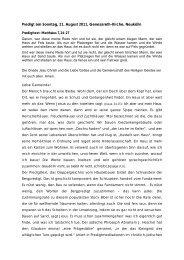 als PDF erhalten. - Genezareth
