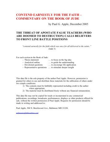 full commentary in pdf format free sermon outlines bible study