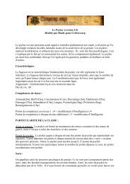 Le Psyker (version 3.5) Réalisé par Shade pour Cerbere.org Le ...