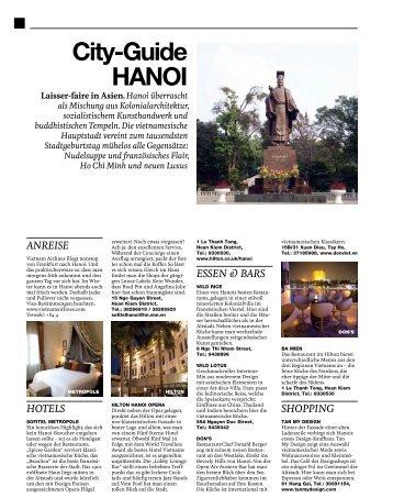 Citydguide HANOI