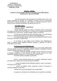 Proces Verbal 22 mai 2008 - Primaria Municipiului Hunedoara
