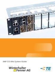 AMP CO Ultra System-Guide Teil 1 - Winterhalter + Fenner AG