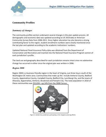 Section III: Community Profile - Virginia's Region 2000