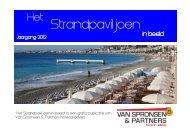 Het Strandpaviljoen in Beeld - Van Spronsen en Partners