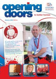 Opening Doors - Autumn 2009 - Stafford and Rural Homes