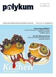 Kochen THEMA, Seite 14 - VSETH - ETH Zürich