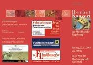 Herbst Konzert Herbst - Braunau