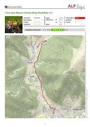 Mountainbike Tour zum Wasser-Sinnes-Weg (Nockbike 13)