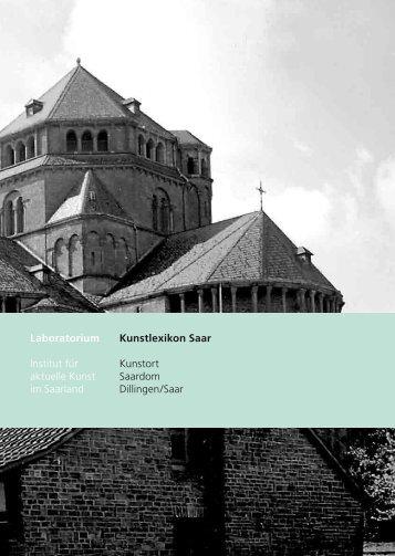 Laboratorium Institut für aktuelle Kunst im Saarland Kunstlexikon ...