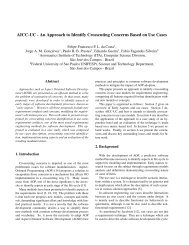 An Approach to Identify Crosscuting Concerns Based on Use Cases