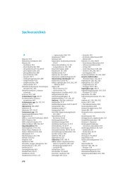Sachverzeichnis