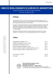 Año 2 - Facultad de Derecho - Universidad de Buenos Aires